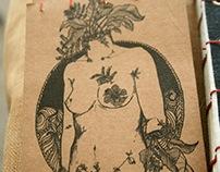 Mujer Planta -Encuadernación