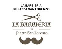 LA Barbieria di Piazza San Lorenzo - Presentazione logo