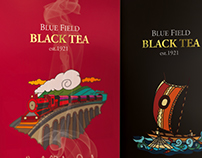 Premium Tea Packaging and Illustrations