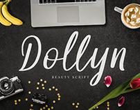 Dollyn Script - Casual Playful Font