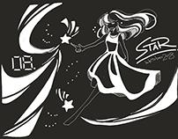 Inktober2018 : 08 Star