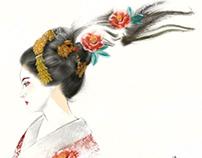 椿舞妓 Camelia Maiko