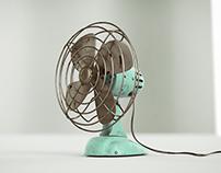 Old Desk Fan.
