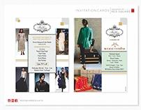 Invitation Cards for Bon Vivant