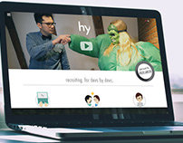 team hy - Website Design