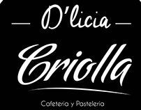 IDENTIDAD CORPORATIVA D'LICIA CRIOLLA