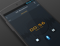 HD Audio Recorder - Redesign