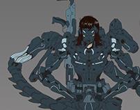 Cyborg girl 16