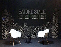 Satori Stage | Chalk Painting