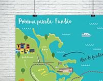 Próxima parada: Fundão | infográfico