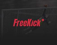 FreeKick football