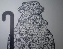 Zentangle Divina Pastora
