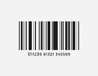 Fibonacci Barcode