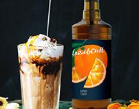 Label design for Syrups