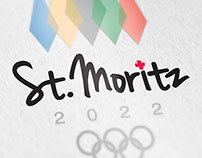 St. Moritz Olympic Branding 2022