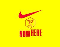 Nowhere FC x Nike