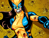 Marvel - All New Wolverine - Cover Prompt