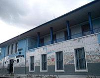 Facade remodeling - Tarnaveni city - mosaic