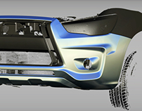 Mitsubishi ASX Bodykit Model