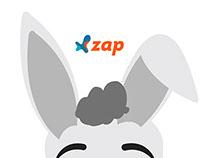 Personagem Zap Imóveis Páscoa 2015