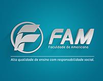 Redesign Logotipo FAM - Faculdade de Americana