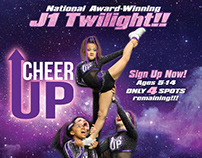 Cheer Up Athletics J1 Twilight Team and Class Posters