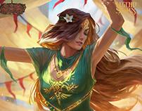 Legend Story Studios: Card set Illustrations
