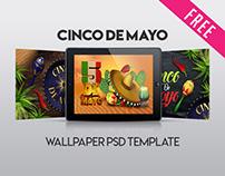 Free Cinco de Mayo Wallpaper in PSD