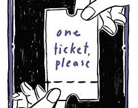 Gaysi Zine Bazaar '18 - One ticket, please