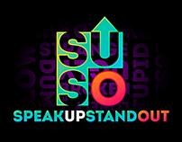 Speak Up Stand Out: Redesign