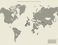 Global Map of Unresolved Territorial Disputes
