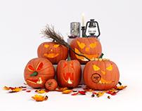FREE Halloween 3D Models Collection - BREP STUDIO Vol.1