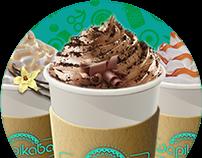 Frappuccino, milkshake menu