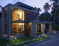 Residence of Anoop Aravind