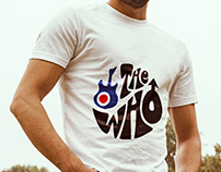 Tshirt design for The Who and Pretty Green