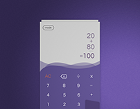 Daily UI Challenge 10:Calculator App