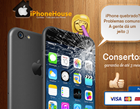 iPhone House • FaceADS