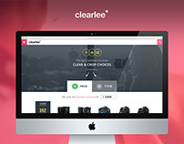 Clearlee - Strategy + UI/UX