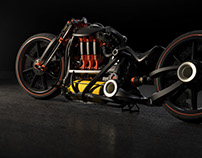 Brayton 6 Performance Motorcycle