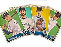 Blue Jays 'Throwback' Baseball Cards
