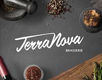 Terra Nova Brasserie - Visual identity