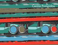 Centre Pompidou - Gráfica