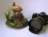 Fairytale Mushroom House By Gül ipek Diorama Artist