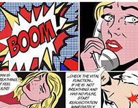 First Aid (tribute to Roy Lichtenstein)