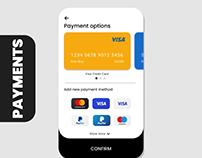 ui ux payment app screen