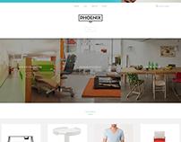 Phoenix theme concept for shopify