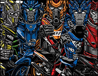 Motobot Series Vol. 1 in Malaysia
