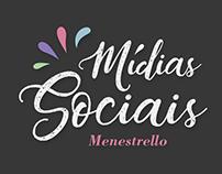 Mídias sociais para Menestrello