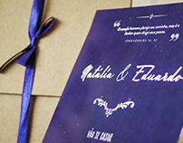 Natália e Eduardo | Convites e Souvenirs