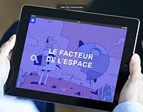LE FACTEUR DE L'ESPACE-INTERACTIVE BOOK
